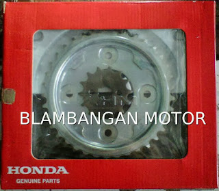 Gir set/chain kit Honda Absolute revo atau Blade