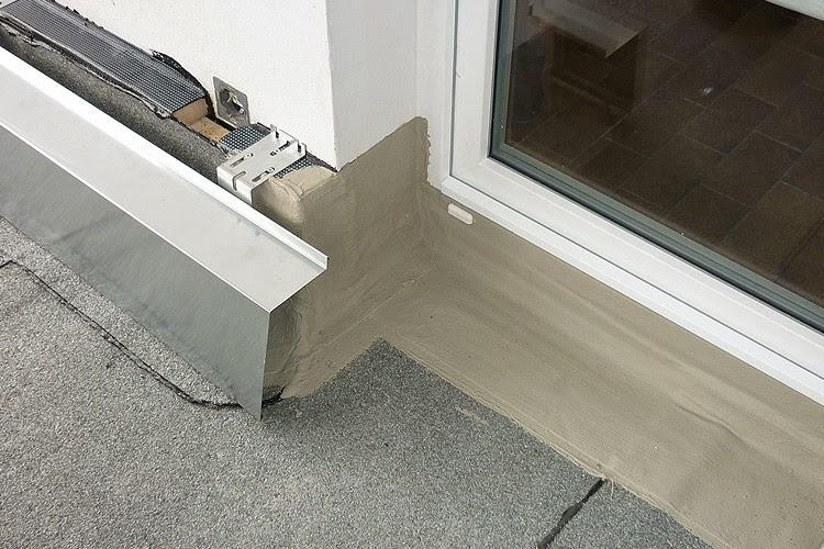 Balkon abdichten bitumen w rmed mmung der w nde malerei - Abdichtung hauswand ...