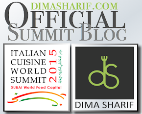 Dima Sharif is appointed as the official public face and blogger of Italian Cuisine World Summit