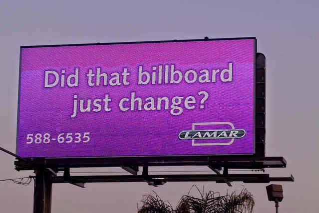 out of home advertising - digital billboards