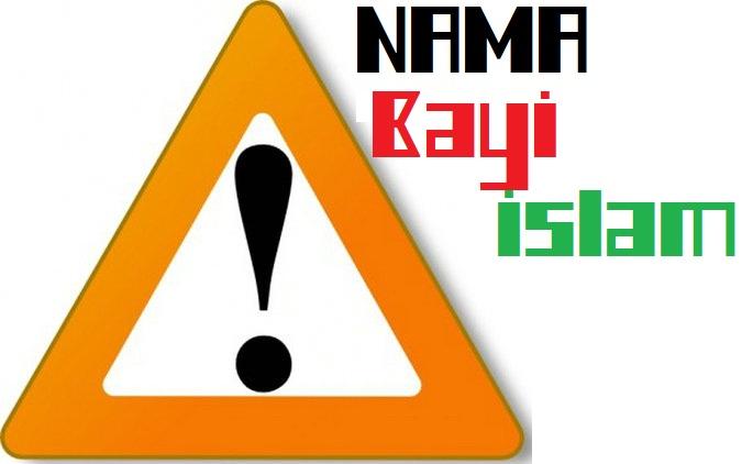 Contoh Nama-Nama Dilarang Untuk Bayi Islam Wajib Tahu !