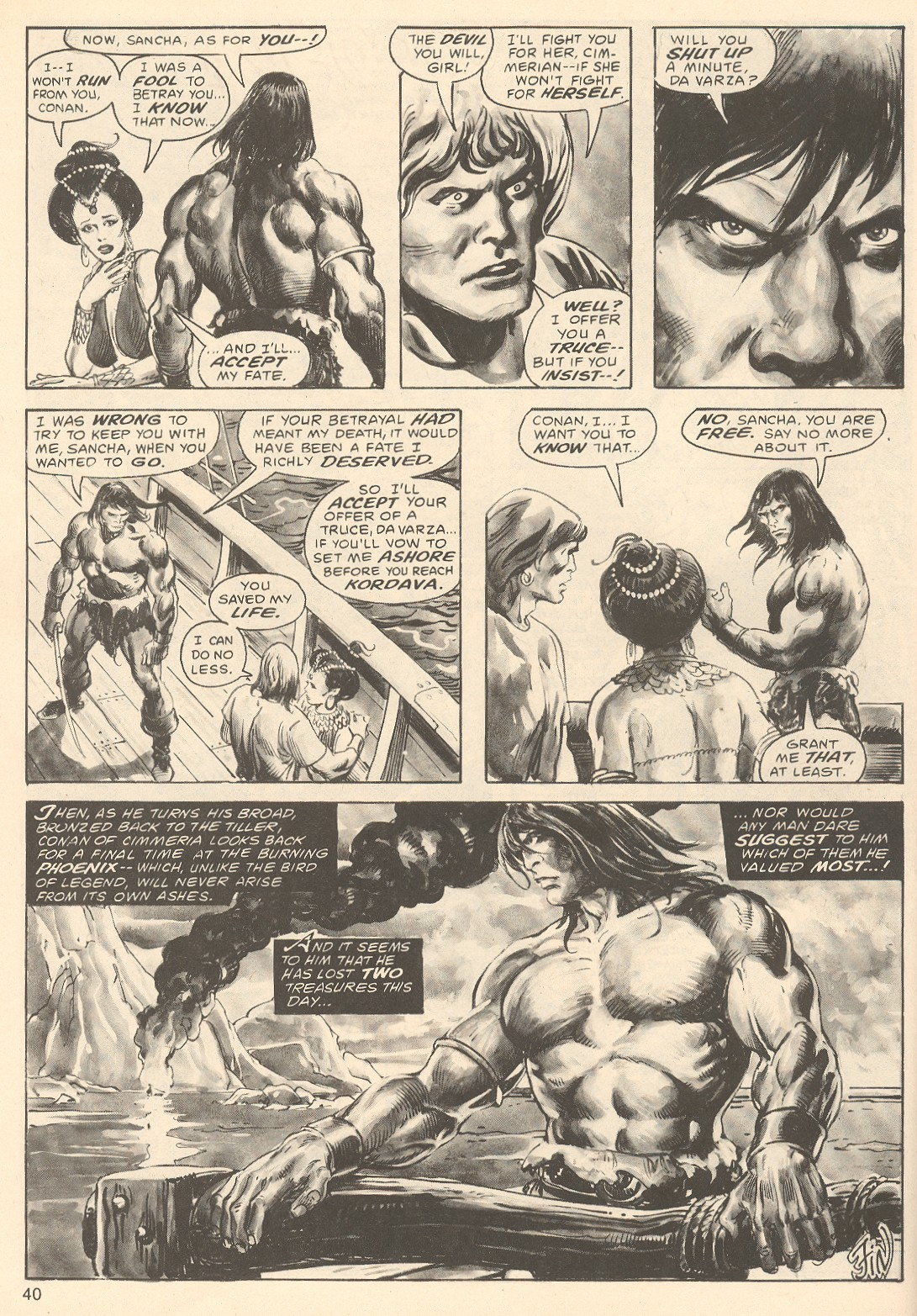 The Savage Sword Of Conan Issue #67 #68 - English 40