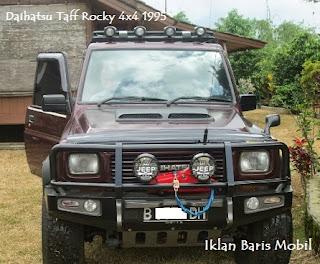 Iklan baris mobil, Dijual - Daihatsu Taff Rocky 1995