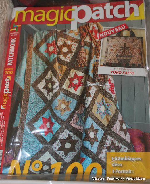 Libros de Patchwork y Quilt (Magic Patch  número 100)- Vilabors