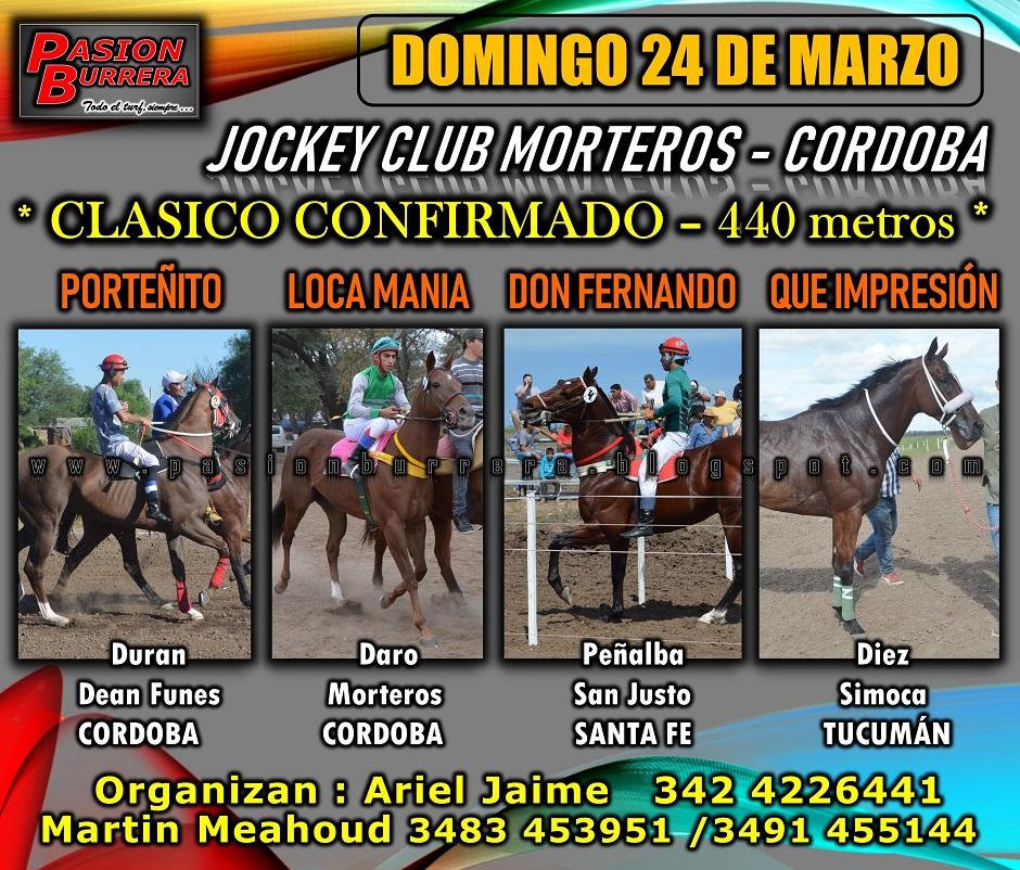 MORTEROS 24 - 440 metros