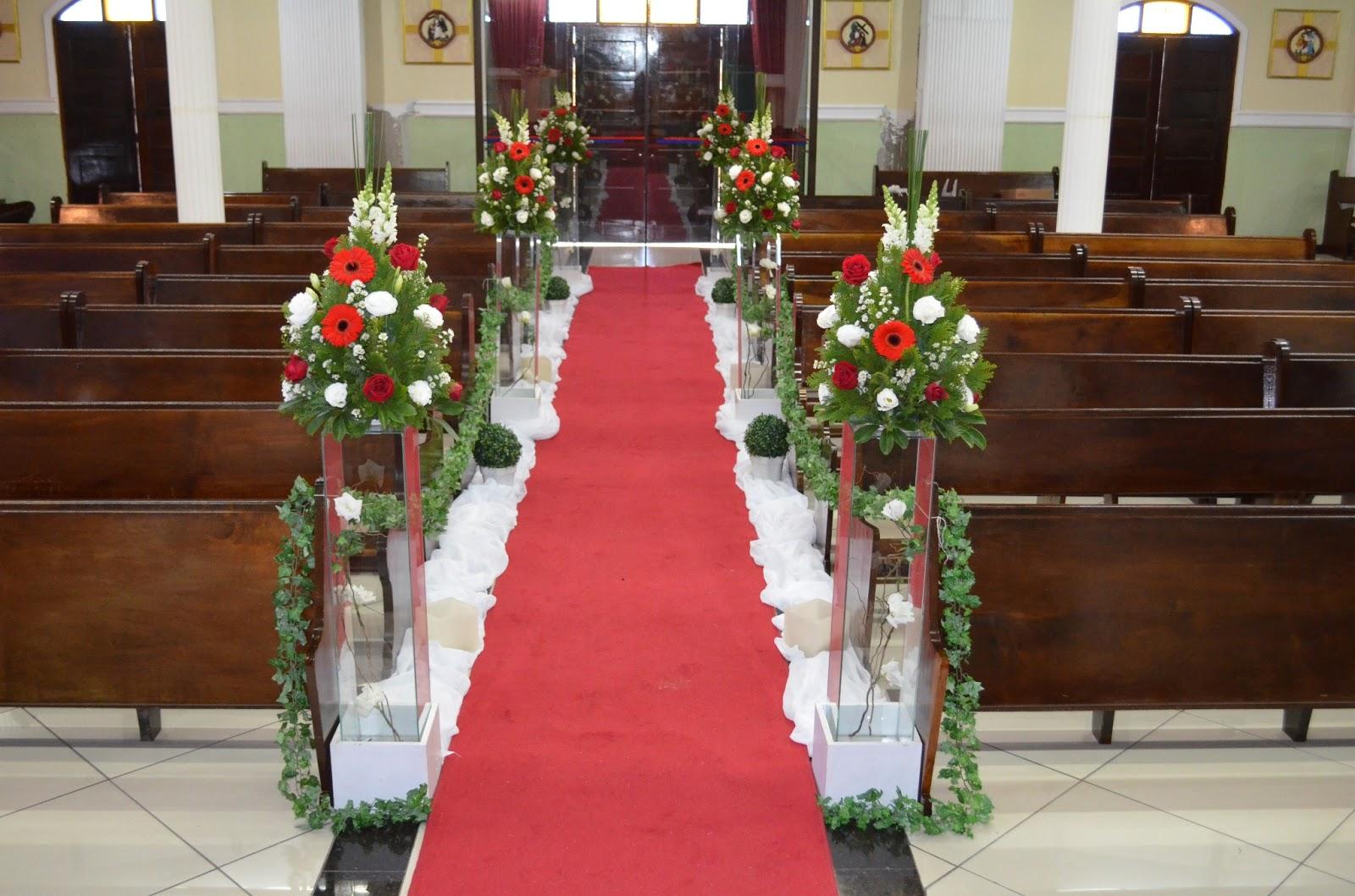 decoracao branca casamento: Decorações: Decoração de casamento vermelha e branca 08/07/2013