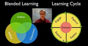 Blended learning cycle model