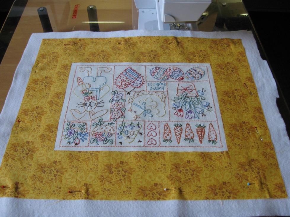 Anita 39 s quilts en handwerken paasstitcherie - Quilts gele ...