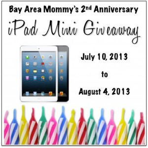 Enter to win an iPad Mini, ends 8/4/2013