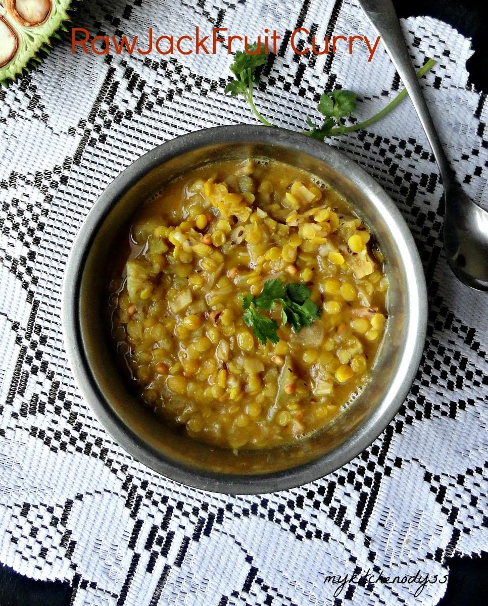 RawJackfruit curry