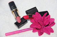 octobre rose, RAL, rouge à lèvres, l'oreal, color riche, frieda
