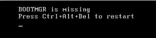 Memperbaiki Bootmgr hilang