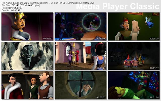 Érase una vez... Un cuento al revés 2 (2009) | Capturas Madia Player Classic
