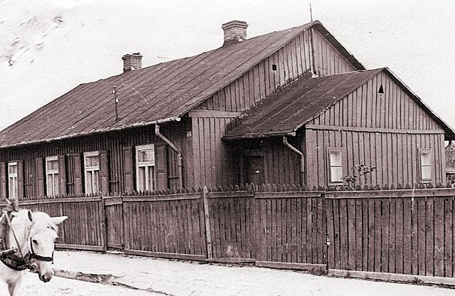 Końskie, ul. Szymańskiego 10. Fotografię udostępnił Mateusz Partyka
