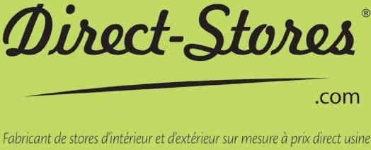 Direct-Stores fabricant de stores intérieurs et extérieurs sur mesure