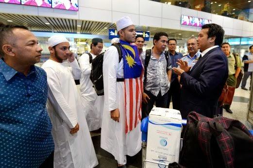 Najib Syukur Pelajar Malaysia Di Yaman Selamat Pulang