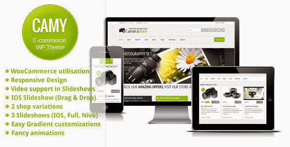 Camy v2.0 - Themeforest Premium Multipurpose Shop Free