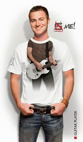 kaos 3d me-guitar