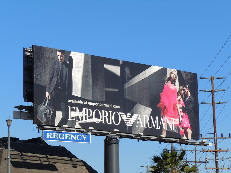 Emporio Armani Feb 2011 billboard
