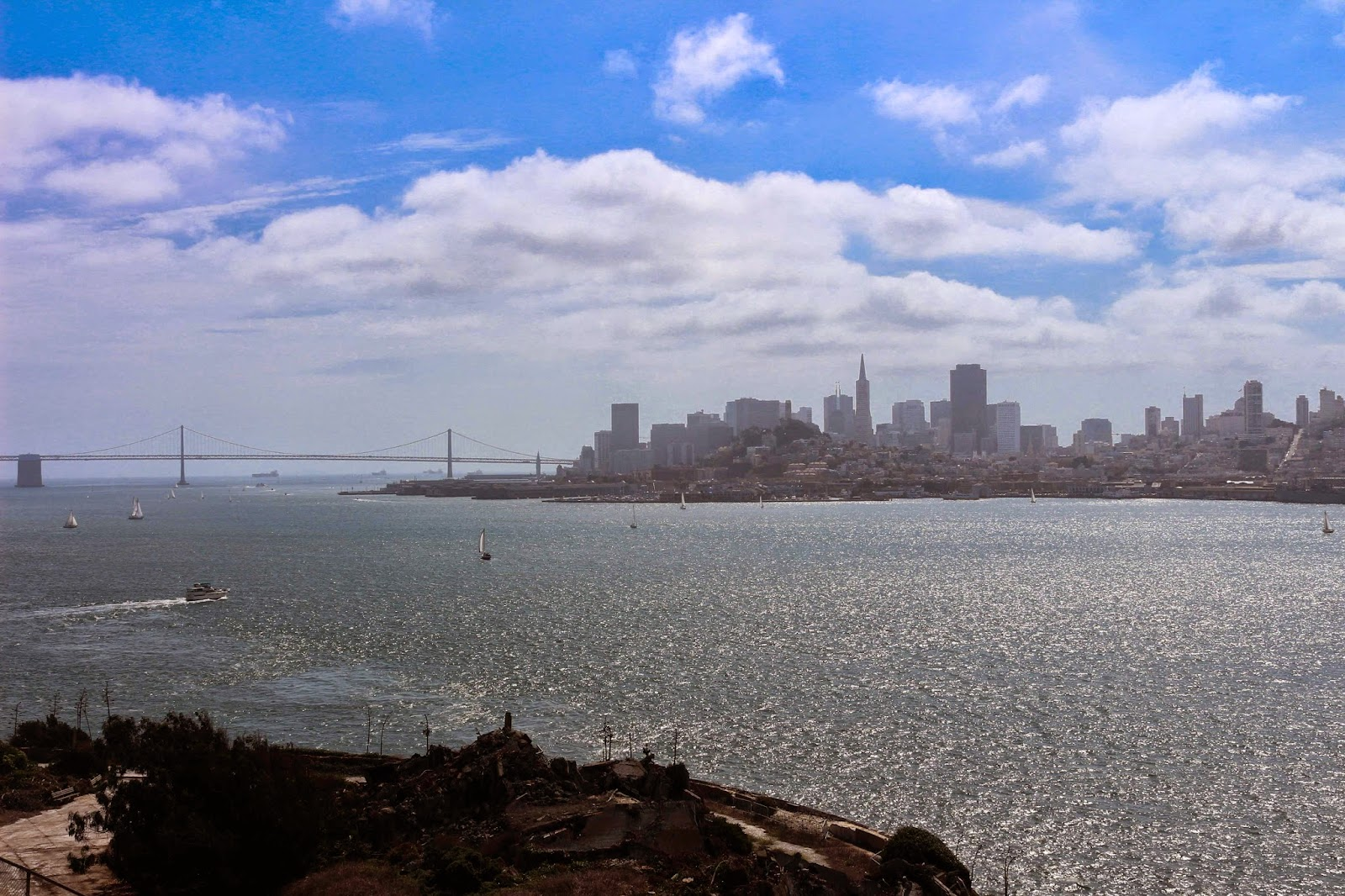 View of San Francisco from Alcatraz