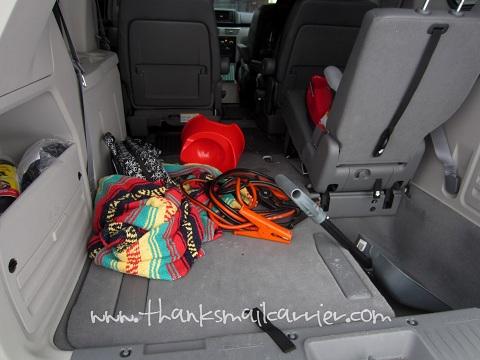 unorganized van