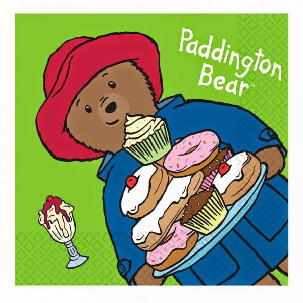 Paddington Bear Napkins