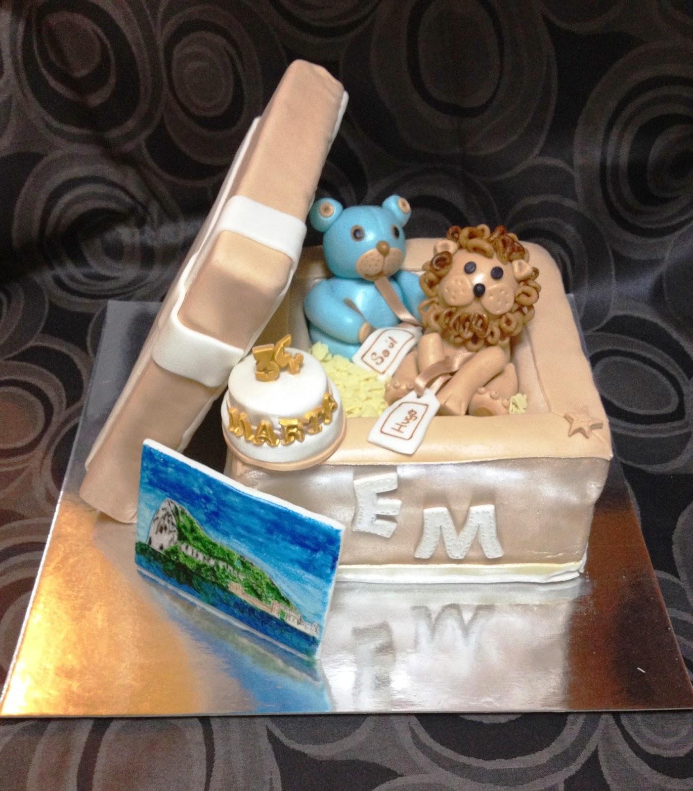 tarta caja; tarta decorada fondant caja; peluches; animales; fondant