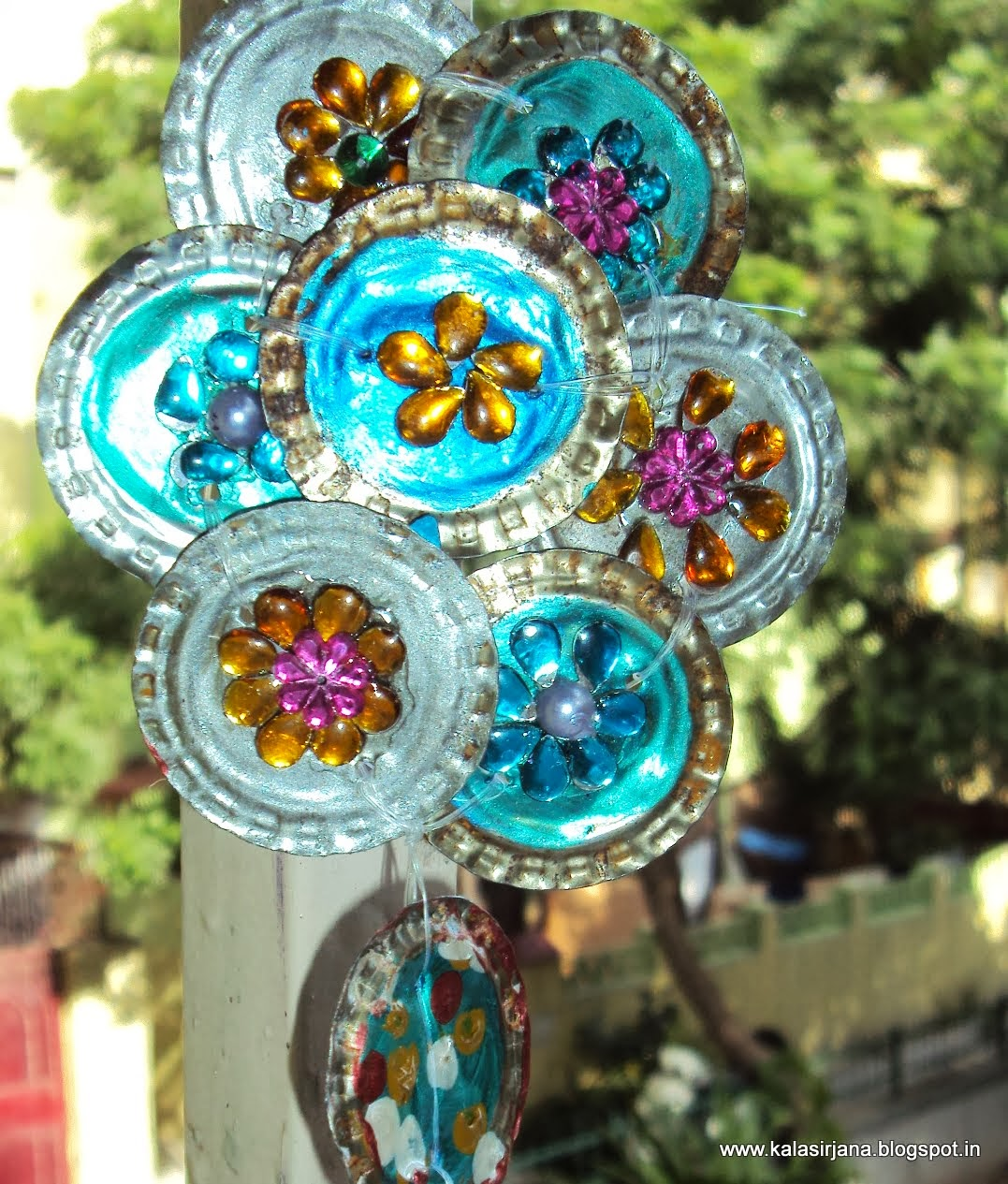 Just like that aesthetics in art and design for Bottle cap wind chime