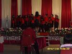 SM HKI Pekanbaru sebagai peserta festival koor BOAS PGI wil. Riau