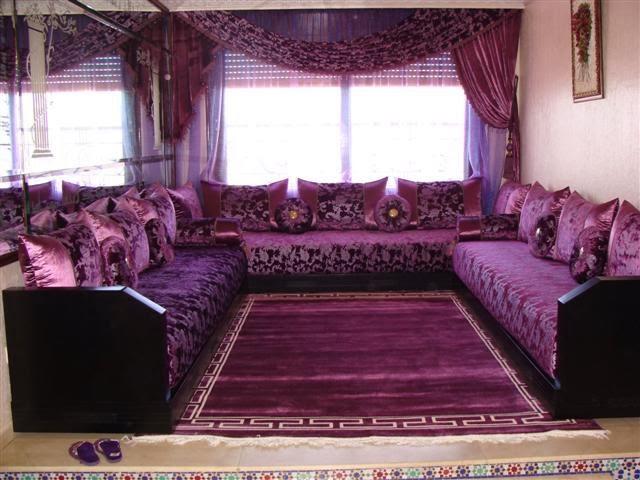 Salon Marocain Moderne Noiretrose
