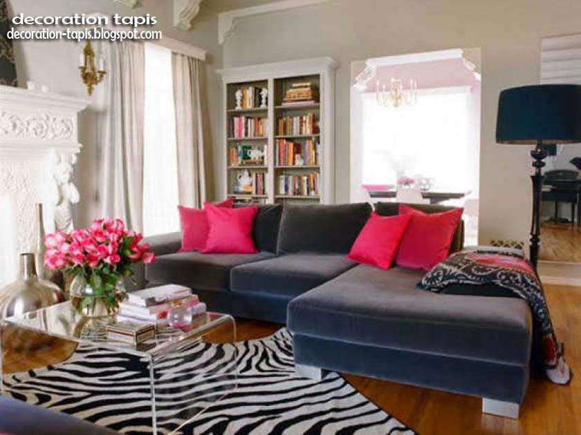 d coration tapis salon moderne d coration tapis. Black Bedroom Furniture Sets. Home Design Ideas