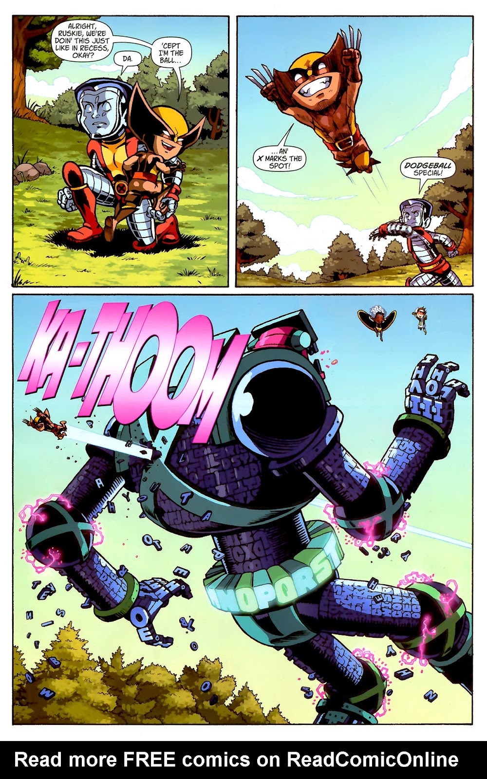 Read online X-Babies comic -  Issue #2 - 21