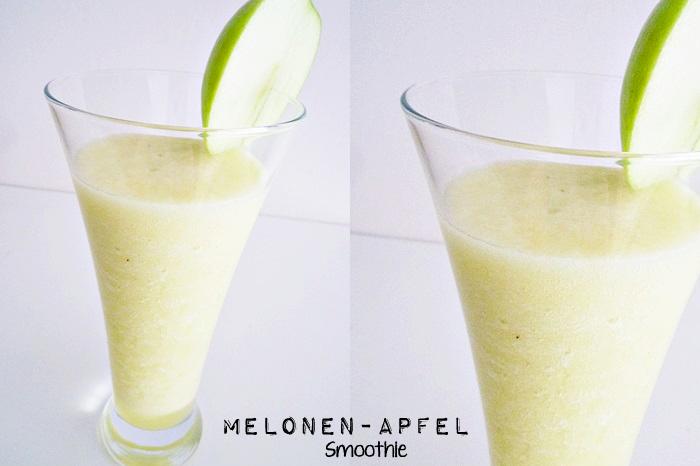 Melonen-Apfel Smoothie
