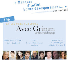 Théâtre La Chapelle/ Avec Grimm, l'enfance du langage