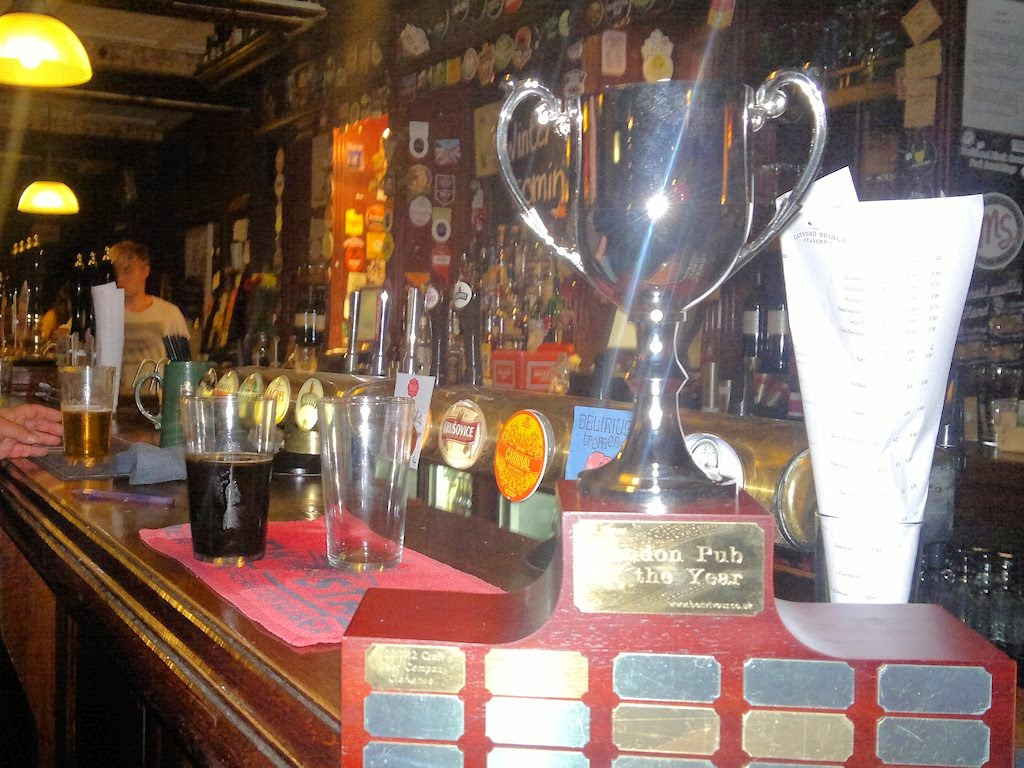 The Ben Viveur Pub of the Year trophy