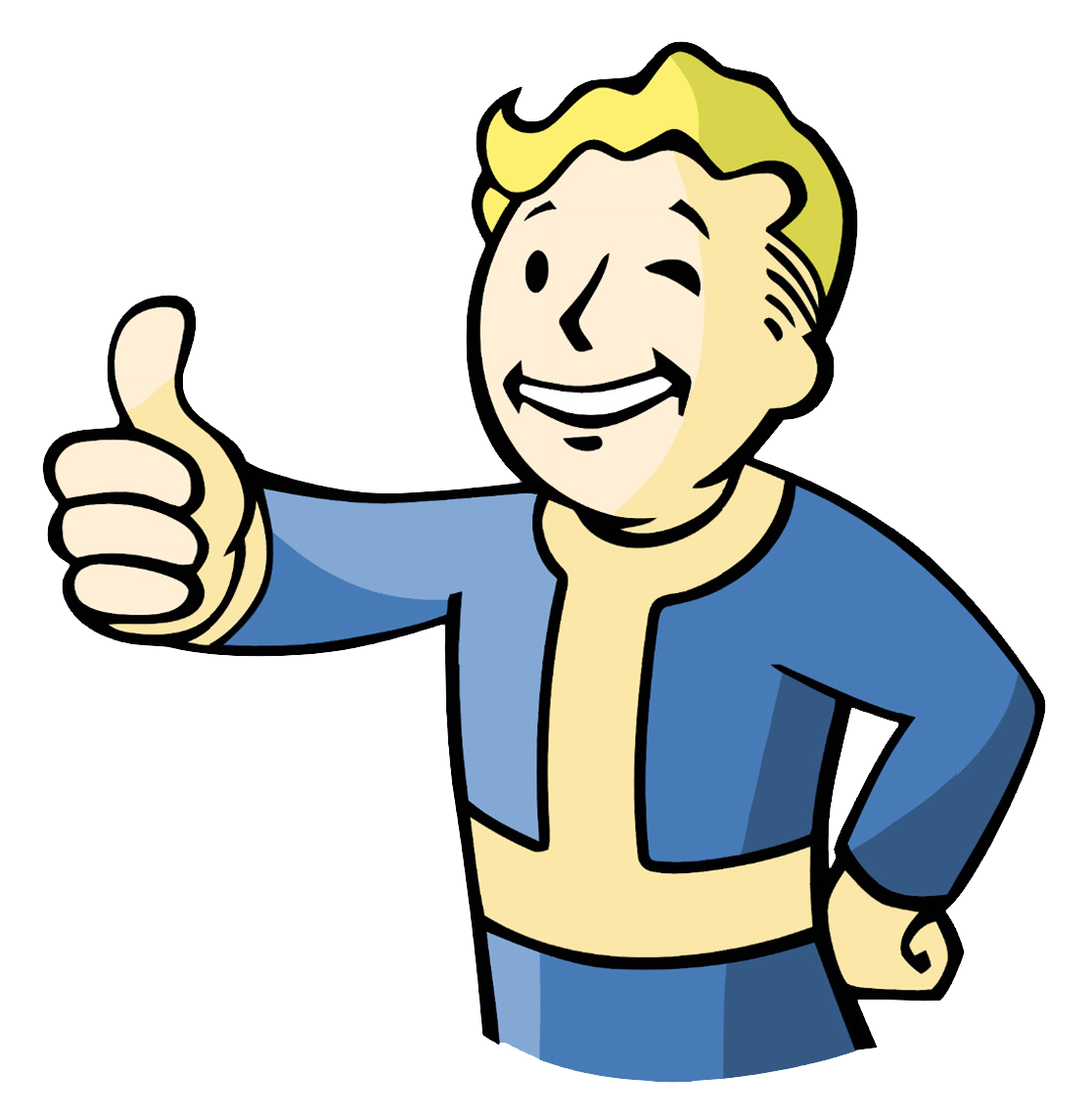 fallout vault boy thumbs up
