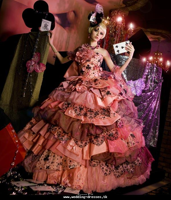 Alice in wonderland clothing periodvintages for Wedding dress color meanings