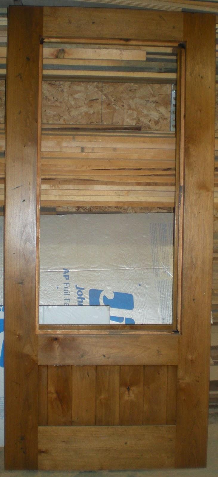 Rustic, alder, panels, custom, door, knotty alder, huisman