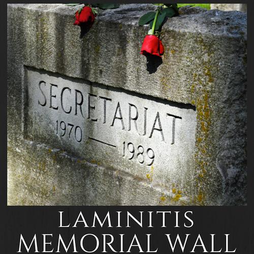 ©Sarah K. Andrew Secretariat's Grave Laminitis Memorial Wall