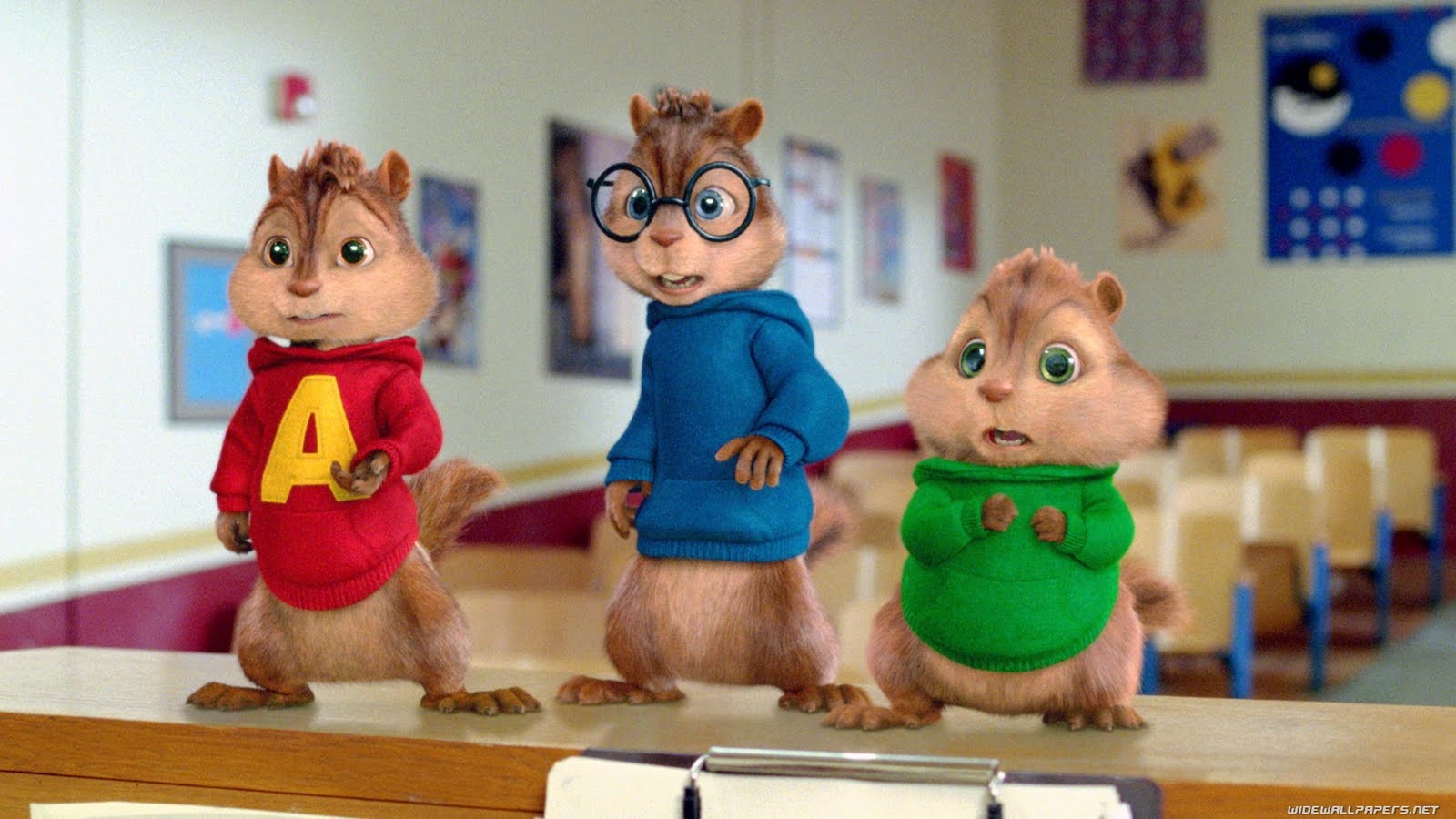 alvin and the chipmunks wallpapers - Alvin and the Chipmunks free Wallpapers (14 photos) for