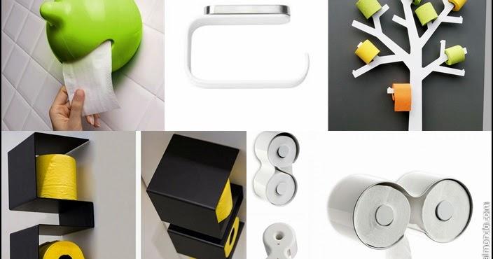 idee originali per sistemare la carta igienica! ~ stile bagno - Arredo Bagno Idee Originali