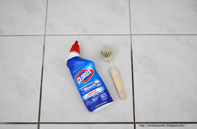 Holiday Sparkle FINALLY CLEAN YOUR GROUT - Best stuff to clean grout