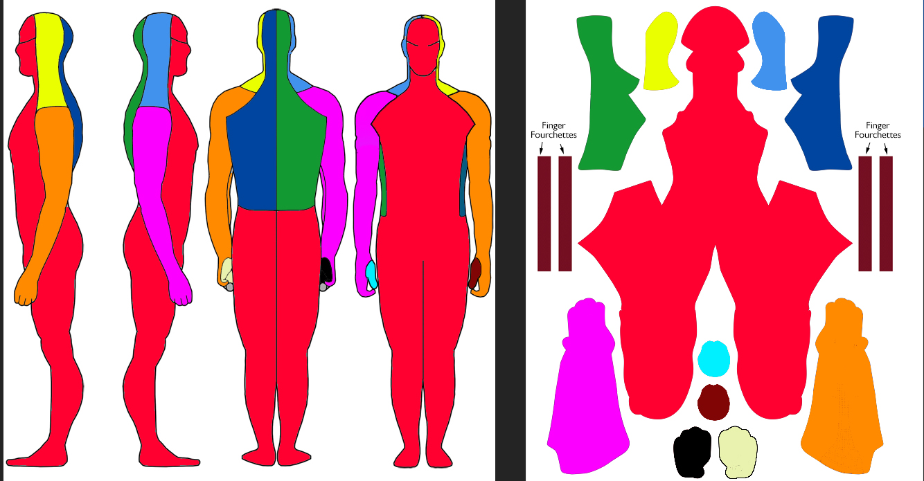 Zentai Design Template