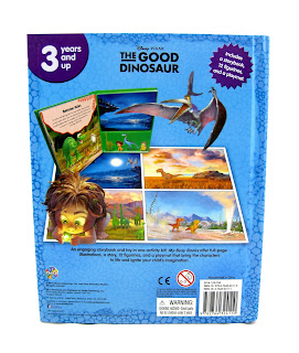 the good dinosaur my busy book