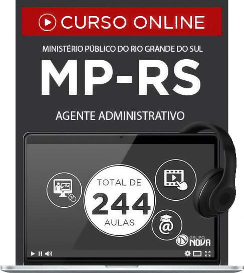 Curso Online MP RS 2015 Agente Administrativo