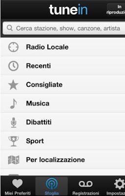 COME SENTIRE LA RADIO SU IPHONE 5 - 4S - 4 - 3G