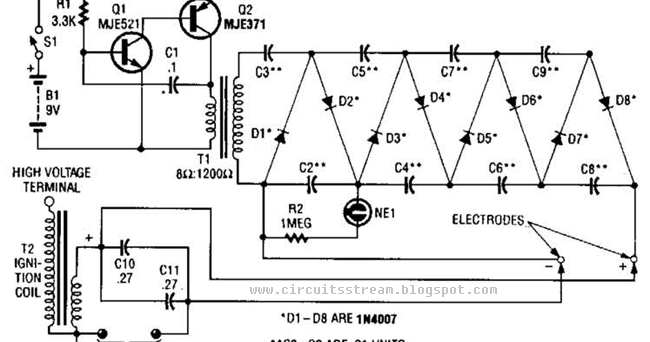 circuit wiring solution  part 2 high voltage supply wiring diagram schematic