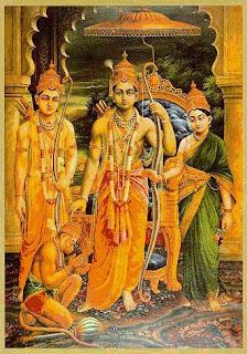 Ramji,Sitaji,Lakshmanji,Hanumanji