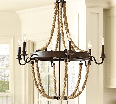great chandelier for a nautical look - Nautical Chandelier