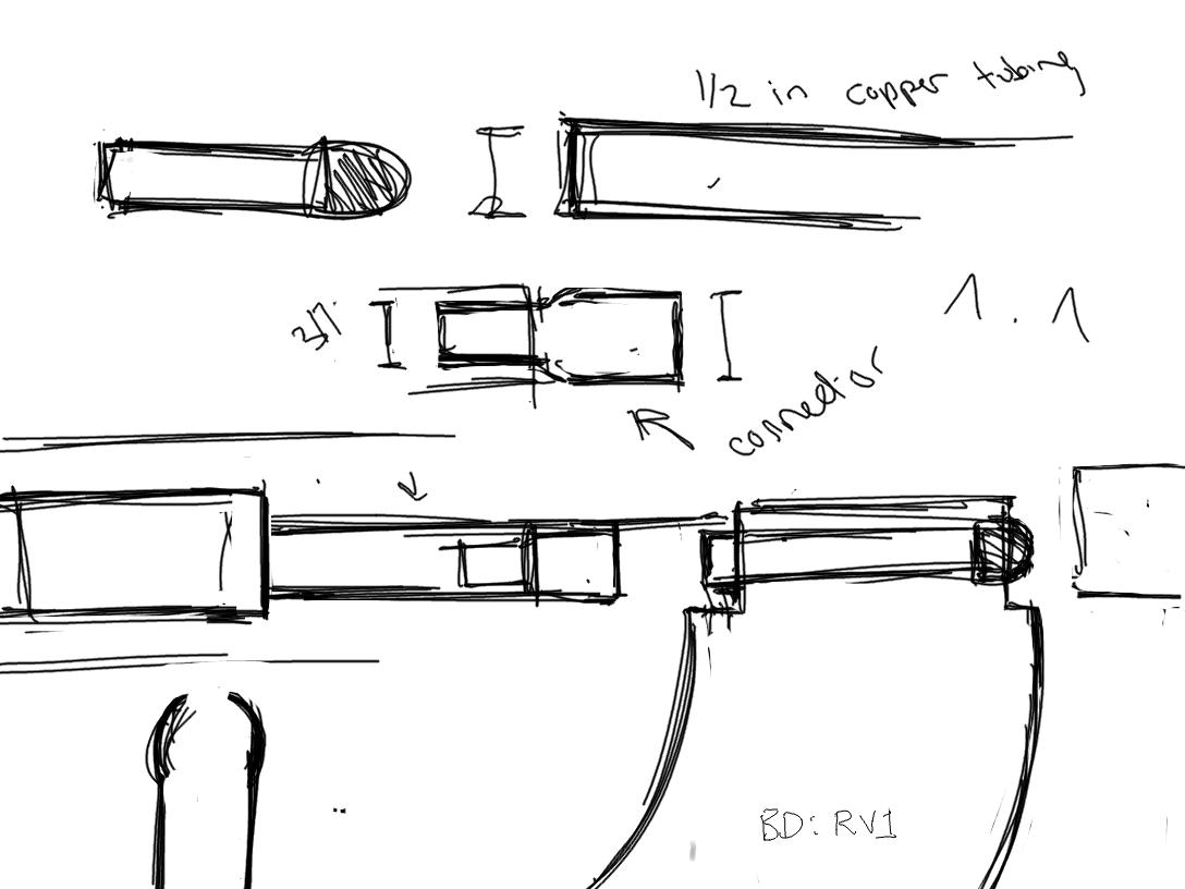 Nerf Gun Drawings